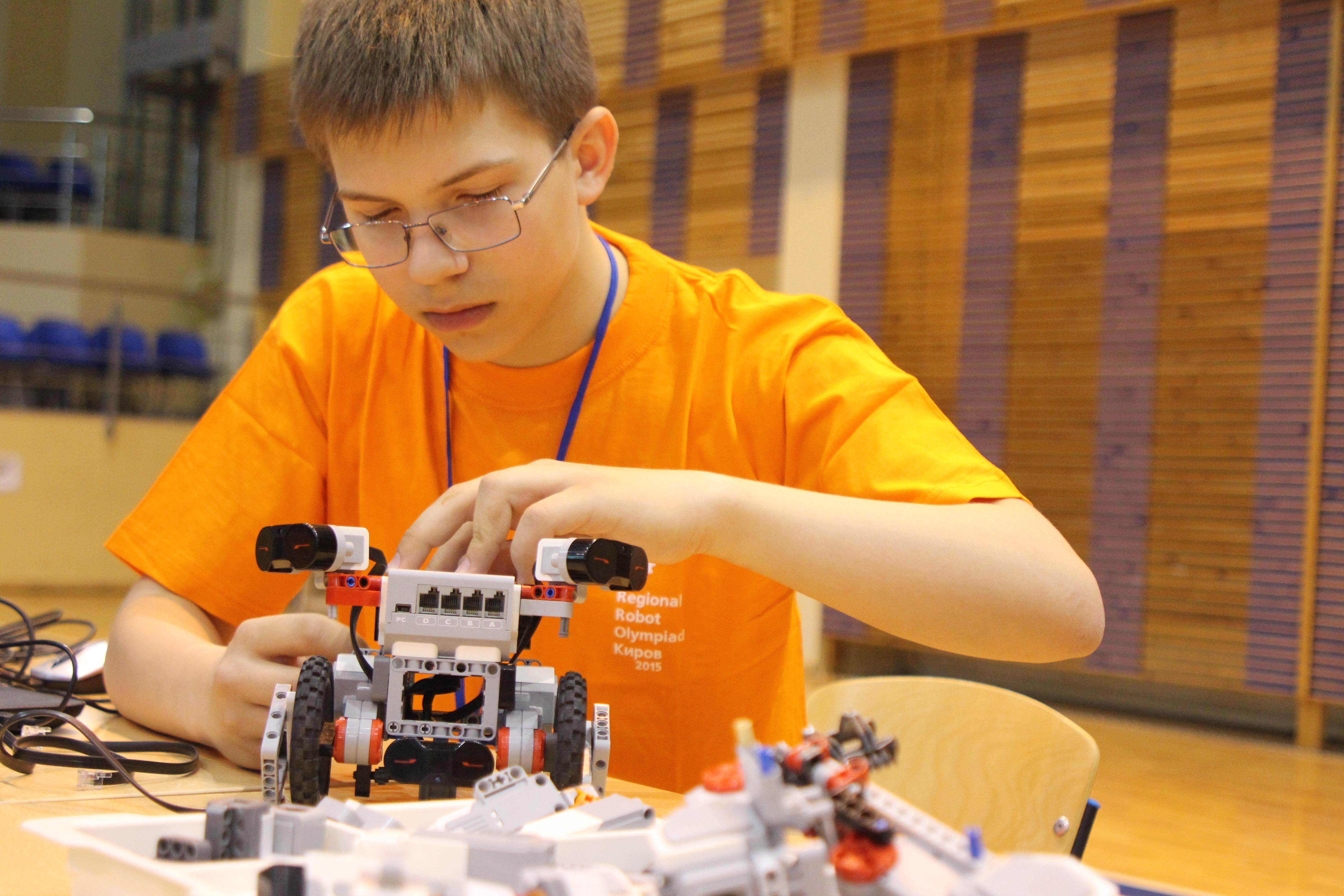 Олимпиада конкурс робототехника